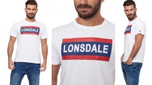 Camiseta manga corta Lonsdale para chico