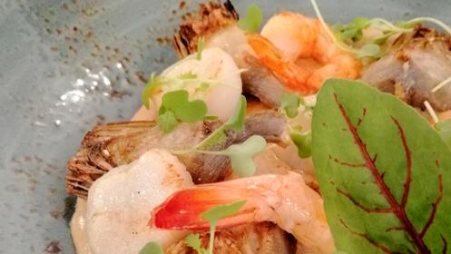 Menú en el Restaurante Punta Sal
