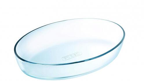 Bandeja de cristal Pyrex Classic ovalada