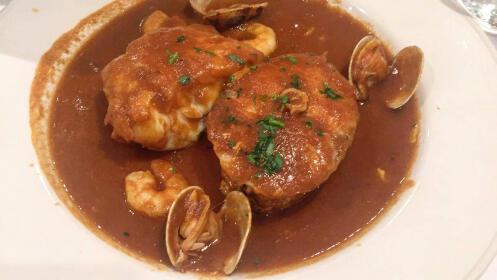 Menú para 2 personas de restaurante Zumeltzegi Donostia