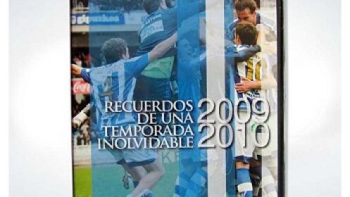 Recuerdos de una temporada inolvidable 09/10 - Real Sociedad
