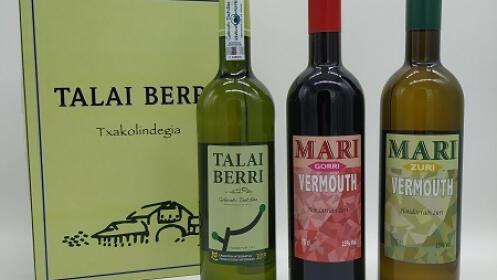 Lote de vermouth y txakoli Talai Berri