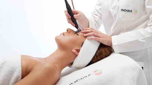 Una sesión o bono de 10 sesiones de tratamiento facial  con INDIBA