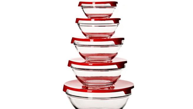 Set de 5 boles de cristal de Martín Berasategi