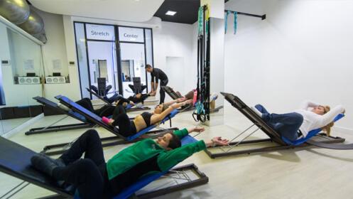 2 clases de reeducación postural en Stretch Center Amara