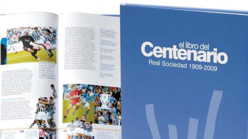 Libro del centenario de la Real Sociedad + DVD con ENVÍO A DOMICILIO