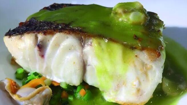 Menú de alta cocina  en Restaurante Urepel de Donosti