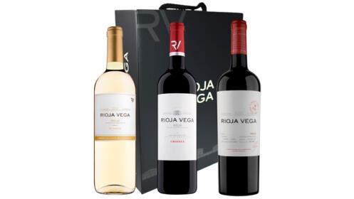 Estuche de 3 vinos + Visita con cata para 2 pers.