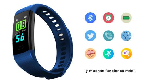 Pulsera Deportiva Bluetooth cRadia Y5