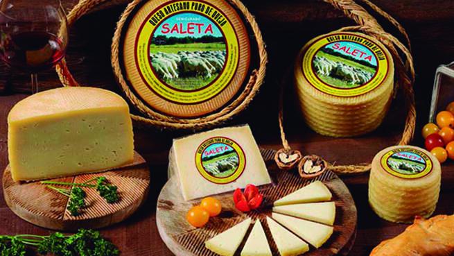 Lote de 5 quesos manchegos de oveja artesanos